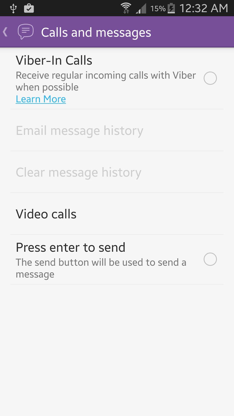 Viber for Samsung Galaxy
